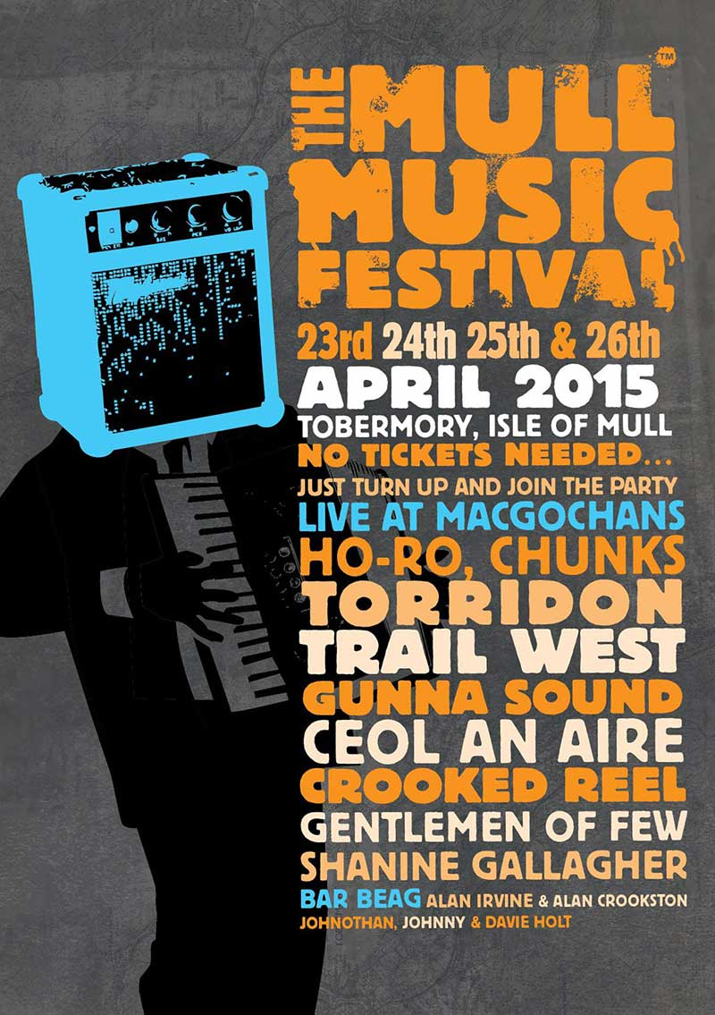 Music Festival programme 2015 for MacGochans Tobermory