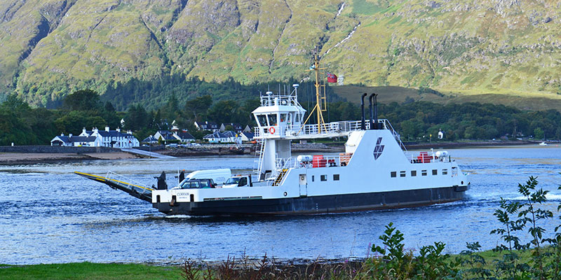 ferry between Corran and Nether Lochaber (Ardgour)