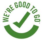 We're Good To Go Scotland logo