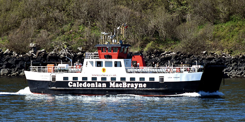 ferry to Mull (Tobermory) from Ardnamurchan